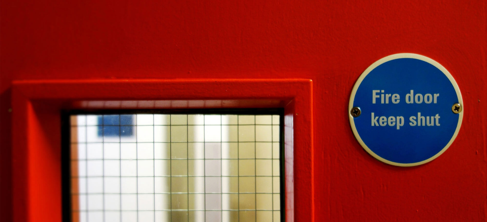 Mandatory Fire Door Instruction Signs